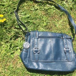 Relic Handbags - Pretty blue shoulder purse