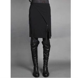 Ann Demeulemeester Dresses & Skirts - Ann Deumeulemeester Wrap Around Skirt Sz 40 EUC