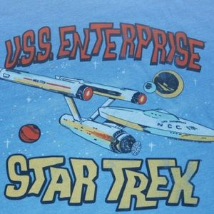 Junk Food Clothing Other - Men's Star Trek U.S.S Enterprise T-Shirt