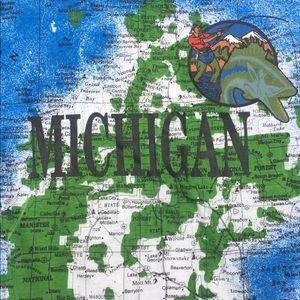 Short Hills Shirts Vintage Michigan Map Tize Xl Poshmark