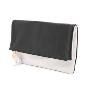 Clare Vivier Handbags - ✨REDUCED✨ Clare V. Foldover Clutch