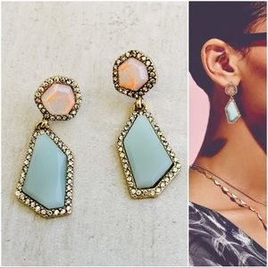 Jewelry - Geo Drop Earrings