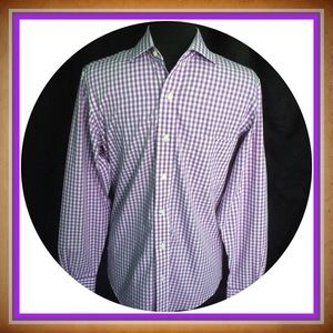 Brooks Brothers Other - Brooks Brothers / Size 15-33 / NWOT Purple Checked
