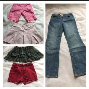 Isobella & Chloe Other - Girls bottoms lot, size 8 (5 items)
