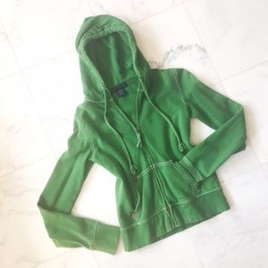Zenana Outfitters Tops - green hoodie