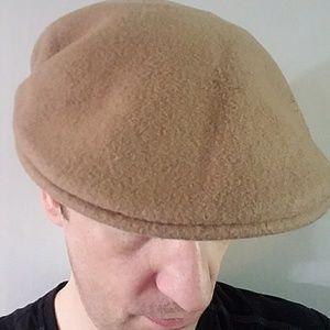 Kangol Other - Kangol 100% wool camel color hat