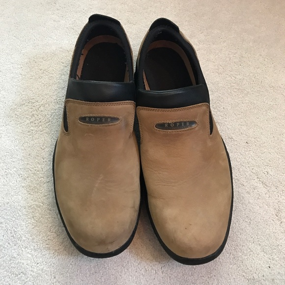 80 roper other roper slip on all weather suede