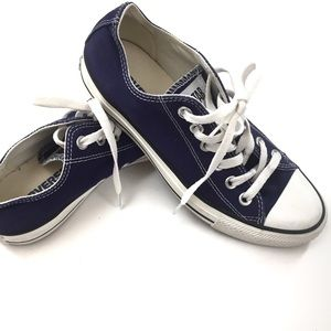 Converse Shoes - Converse All Stars Purple Sneakers Size 7