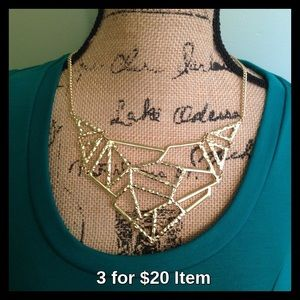 Apt. 9 Jewelry - Apt. 9 Gold Statement Necklace