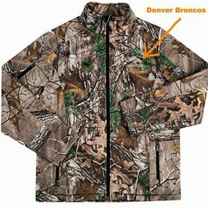 Other - Denver Broncos Realtree Softshell Jacket