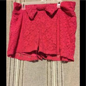 Pants - Nice Lace Bow Shorts