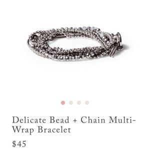 Chloe + Isabel Jewelry - NEW Necklace or wrap Bracelet Delicate Bead Chain