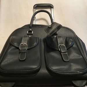 Bugatti Handbags - Bugatti travel laptop bag leather NWOT