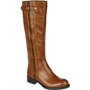 Franco Sarto Shoes - FRANCO SARTO PACAYA LEATHER RIDING BOOTS 9.5