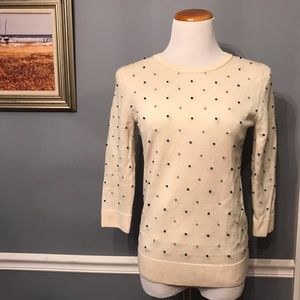 [J. Crew] French Knot Tippi