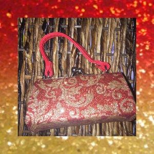 Handbags - MINI RED GOLD LIPSTICK PURSE BUNDLE AND SAVE