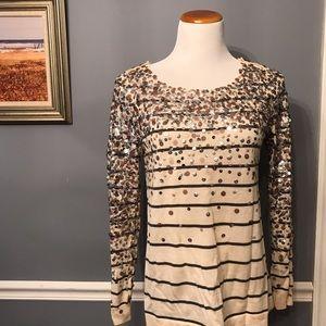 [J. Crew] Confetti Stripe Sweater