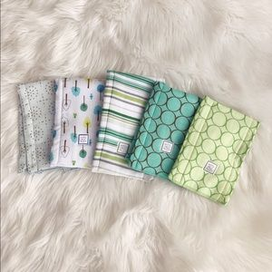 Swaddle Designs Other - • Swaddle Designs • Baby Burp Cloths Changing Pad
