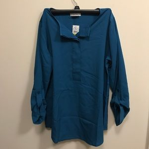 Tops - Turquoise blouse