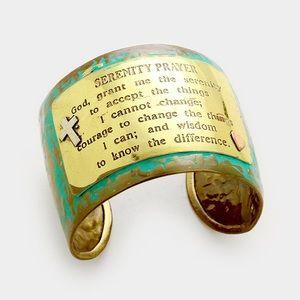 'Serenity Prayer' Bracelet