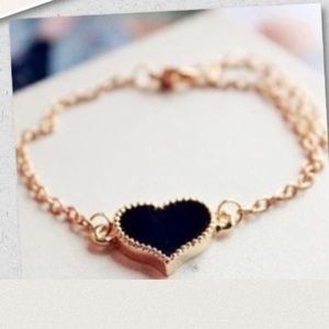 Jewelry - ✨2(for) $15 ✨heart bracelet✨