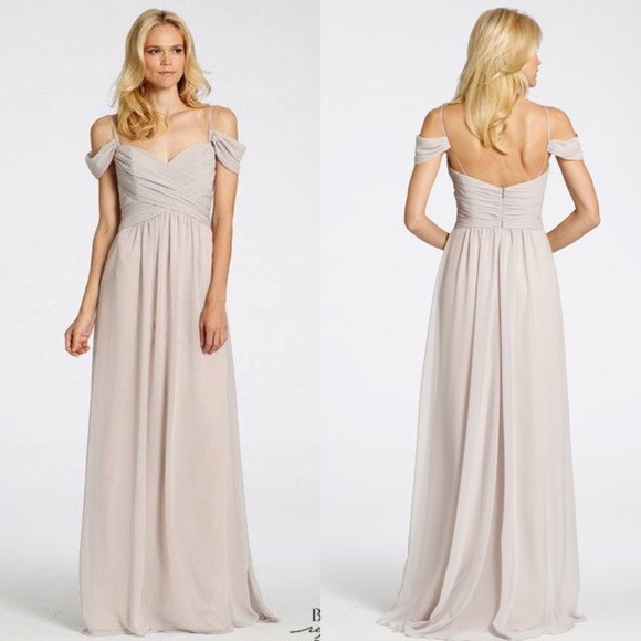 b63c753bb3e1 Dresses | Blush Bridesmaid Dress Haley Paige Occasions 5508 | Poshmark