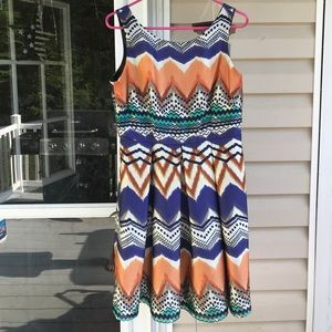 Donna Ricco Dresses & Skirts - Aztec Print Dress