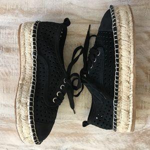 9778e76d190b6 J/Slides Rileyy Perforated Espadrille Sneaker/sz 7