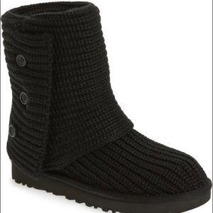 UGG Shoes - UGG knit black size 8