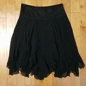 Ralph Lauren Black Label Dresses & Skirts - Ralph Lauren Silk Skirt