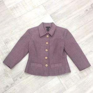 Jackets & Blazers - Purple blazer jacket
