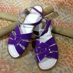 Salt Water Sandals by Hoy Shoes - Salt Water Sandals Patent Leather