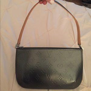 Louis Vuitton Handbags - Authentic Louis Vuitton black leather shoulder bag