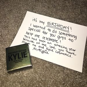 Kylie Cosmetics Other - Kylie Cosmetics Crème Shadow (Limited Edition)