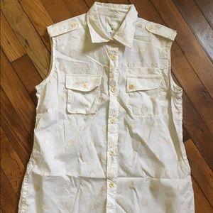 Billy Reid Tops - Billy Reid Polka Dot Shirt