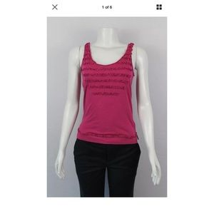 Marc by Marc Jacobs Wine Red Tank Top Sz S