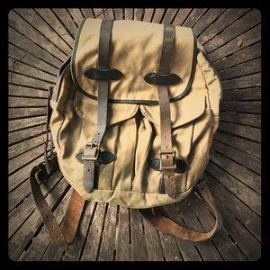 Filson Other - Vintage Filson Leather & Canvas Rucksack Backpack