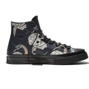 Converse Shoes - Converse 1970's leather snake high top sneakers