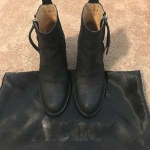 Acne Shoes - Barely used Acne boots
