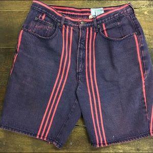 Other - Retro men's denim shorts