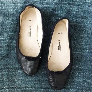 APC Shoes - APC x PORSELLI Ballet Flats