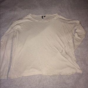 Tops - Cynthia rowley white long sleeve shirt