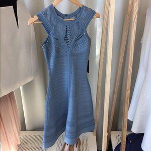 Herve Leger Dresses & Skirts - Herve Leger Vivian Pointelle Bandage Dress