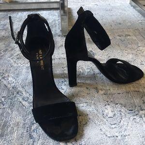 Yves Saint Laurent Shoes - Saint Laurent Grace Velvet Sandals