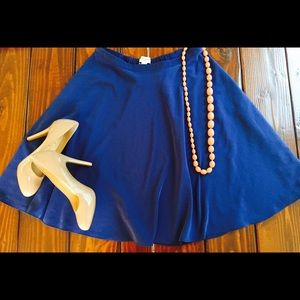 Banana Republic Dresses & Skirts - Banana Republic Skirt 2 4 Blue Swing Dance Circle