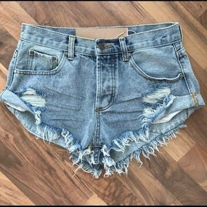 Mustard Seed Pants - Denim Shorts