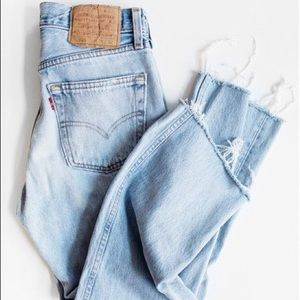Urban Outfitters Denim - Vintage Cropped High Waisted Levi's