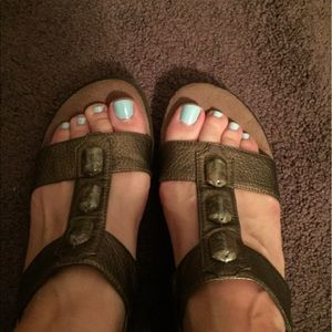 A2 By Aerosoles Shoes - Sale! A2 by Aerosoles Bronze Sandals w/stones