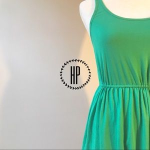 Hollister Dresses & Skirts - Hollister Kelly Green Summer Dress in XS