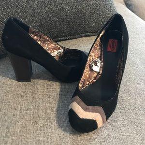 Missoni Shoes - Missoni for Target - Black Heels  Chevron.